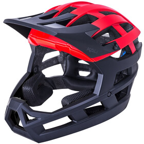 Kali Invader 2.0 SLD Helmet, matt red/black